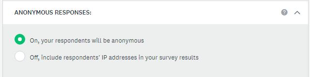 Anonymous Responses